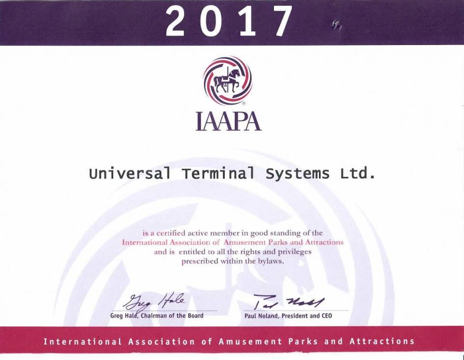 IAAPA membership