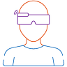 AR goggles for augmented reality