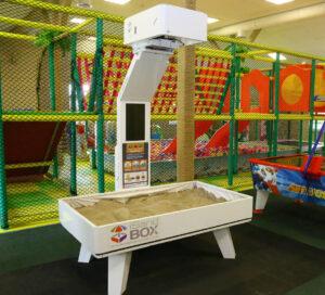 Interactive sandbox in a hotel