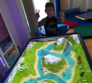 iSandBOX at the Aura school in Tomsk