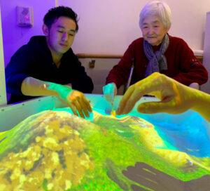 iSandBOX in an elderly care institution in Japan