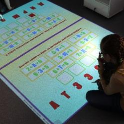 Interactive floor - basic math