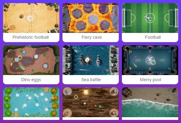 Interactive floor - all modes